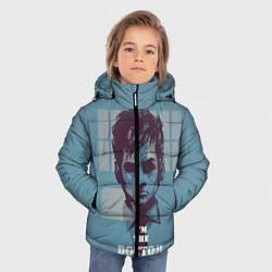 Куртка зимняя для мальчика I'm the doctor цвета 3D-черный — фото 2