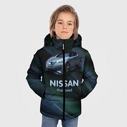 Куртка зимняя для мальчика Nissan the best цвета 3D-черный — фото 2
