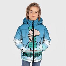 Куртка зимняя для мальчика Хирург цвета 3D-черный — фото 2
