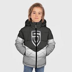Куртка зимняя для мальчика Penta Uniform цвета 3D-черный — фото 2