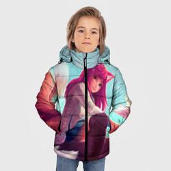 Куртка зимняя для мальчика Cute цвета 3D-черный — фото 2