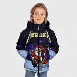 Куртка зимняя для мальчика Metallica: Bad Santa цвета 3D-черный — фото 2