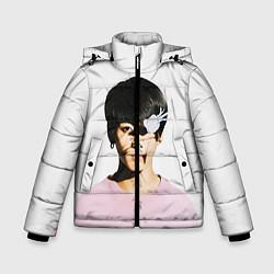 Детская зимняя куртка для мальчика с принтом Jungkook, цвет: 3D-черный, артикул: 10114634606063 — фото 1