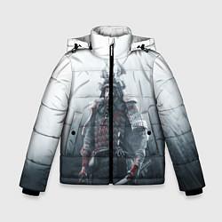 Куртка зимняя для мальчика Shadow Tactics цвета 3D-черный — фото 1