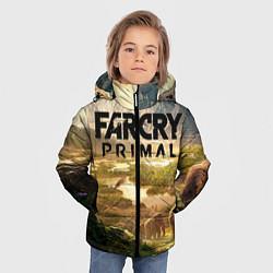 Куртка зимняя для мальчика Far Cry: Primal цвета 3D-черный — фото 2