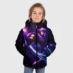 Куртка зимняя для мальчика Malzahar цвета 3D-черный — фото 2