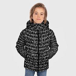 Куртка зимняя для мальчика Руны цвета 3D-черный — фото 2