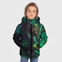 Куртка зимняя для мальчика Twitch цвета 3D-черный — фото 2