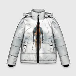 Куртка зимняя для мальчика HL: Freeman цвета 3D-черный — фото 1