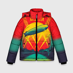 Куртка зимняя для мальчика Led Zeppelin: Hindenburg - фото 1