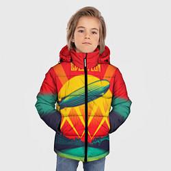 Куртка зимняя для мальчика Led Zeppelin: Hindenburg цвета 3D-черный — фото 2