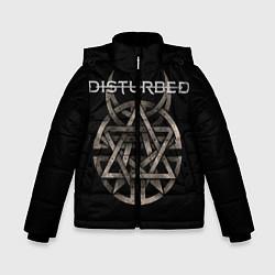 Куртка зимняя для мальчика Disturbed Logo цвета 3D-черный — фото 1