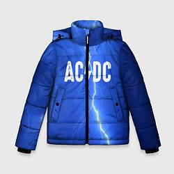 Куртка зимняя для мальчика AC/DC: Lightning цвета 3D-черный — фото 1