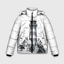 Куртка зимняя для мальчика Маяк цвета 3D-черный — фото 1