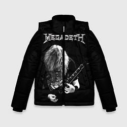 Куртка зимняя для мальчика Dave Mustaine цвета 3D-черный — фото 1