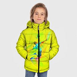 Куртка зимняя для мальчика Волейбол цвета 3D-черный — фото 2