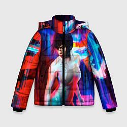 Куртка зимняя для мальчика Ghost In The Shell 13 цвета 3D-черный — фото 1