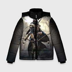 Куртка зимняя для мальчика TES 7 цвета 3D-черный — фото 1