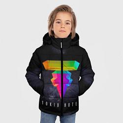 Куртка зимняя для мальчика Tokio Hotel: New Symbol цвета 3D-черный — фото 2