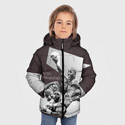 Куртка зимняя для мальчика Floyd Mayweather - фото 2
