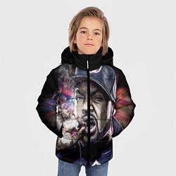 Куртка зимняя для мальчика Ice Cube: Big boss цвета 3D-черный — фото 2