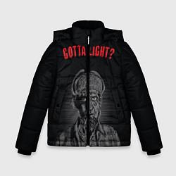 Куртка зимняя для мальчика Gotta light? цвета 3D-черный — фото 1