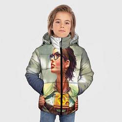 Куртка зимняя для мальчика HL: Alyx Vance цвета 3D-черный — фото 2