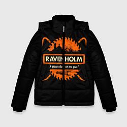 Куртка зимняя для мальчика Ravenholm цвета 3D-черный — фото 1