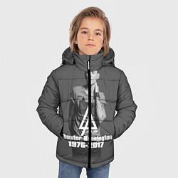 Куртка зимняя для мальчика Память о Беннингтоне цвета 3D-черный — фото 2