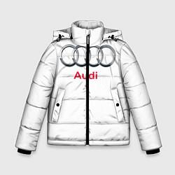 Куртка зимняя для мальчика Ауди цвета 3D-черный — фото 1