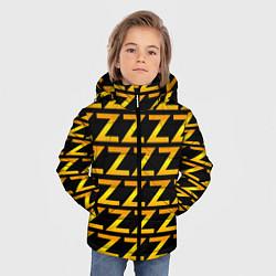 Детская зимняя куртка для мальчика с принтом Brazzers Z, цвет: 3D-черный, артикул: 10133766306063 — фото 2