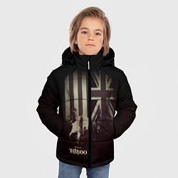 Куртка зимняя для мальчика Taboo London цвета 3D-черный — фото 2