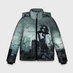 Детская зимняя куртка для мальчика с принтом STALKER: Pripyat, цвет: 3D-черный, артикул: 10135205906063 — фото 1