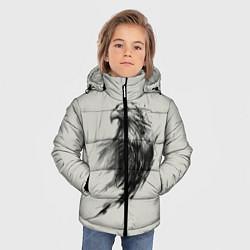 Куртка зимняя для мальчика Дикий орел цвета 3D-черный — фото 2