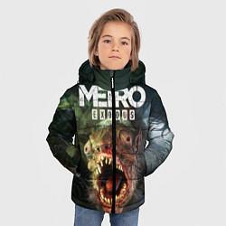 Детская зимняя куртка для мальчика с принтом Metro Exodus, цвет: 3D-черный, артикул: 10135429506063 — фото 2