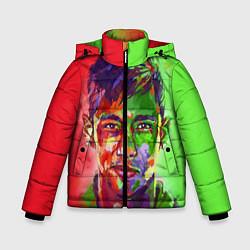 Куртка зимняя для мальчика Neymar Art цвета 3D-черный — фото 1