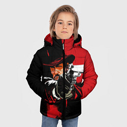 Куртка зимняя для мальчика Red Dead Redemption цвета 3D-черный — фото 2