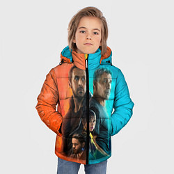Куртка зимняя для мальчика Blade Runner Heroes цвета 3D-черный — фото 2