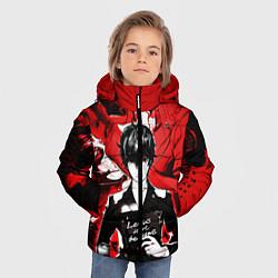 Куртка зимняя для мальчика Persona 5 цвета 3D-черный — фото 2