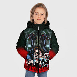 Куртка зимняя для мальчика Jigsaw: The Fear цвета 3D-черный — фото 2