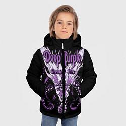 Куртка зимняя для мальчика Deep Purple: Greatest Hits цвета 3D-черный — фото 2