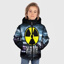 Куртка зимняя для мальчика S.T.A.L.K.E.R: Иван цвета 3D-черный — фото 2