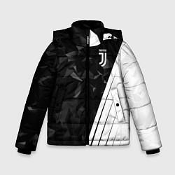 Куртка зимняя для мальчика FC Juventus: Abstract цвета 3D-черный — фото 1
