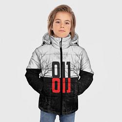 Куртка зимняя для мальчика Stranger Things 011 цвета 3D-черный — фото 2