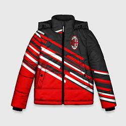 Куртка зимняя для мальчика АC Milan: R&G цвета 3D-черный — фото 1