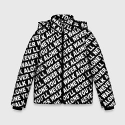 Куртка зимняя для мальчика YNWA цвета 3D-черный — фото 1