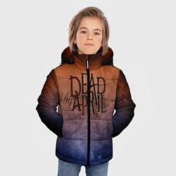 Куртка зимняя для мальчика Dead by April цвета 3D-черный — фото 2