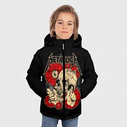 Куртка зимняя для мальчика Metallica Skull - фото 2