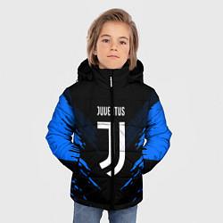 Куртка зимняя для мальчика JUVENTUS Sport цвета 3D-черный — фото 2