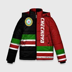 Куртка зимняя для мальчика Chechnya, Russia цвета 3D-черный — фото 1